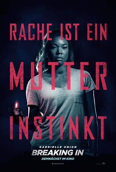 """Filmplakat für """"Breaking In"""""""