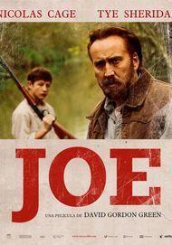 "Movie poster for ""JOE"""