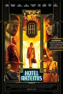 """Filmplakat für """"Hotel Artemis"""""""