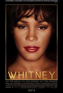 "Movie poster for ""WHITNEY"""