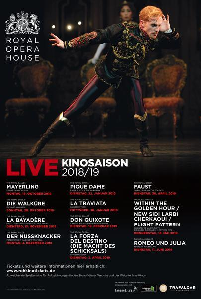 "Movie poster for ""Royal Opera House 2018/19"""