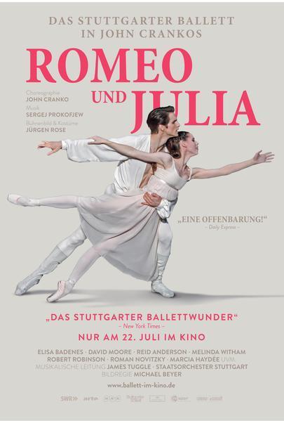 "Filmplakat für ""Romeo & Julia - Stuttgarter Ballett"""