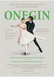 """Filmplakat für """"Onegin - Stuttgarter Ballett"""""""