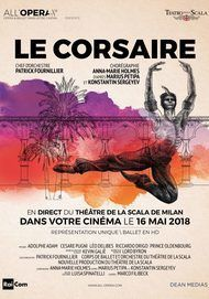 """Movie poster for """"LE CORSAIRE"""""""