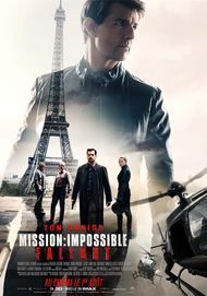 "Movie poster for ""Mission: Impossible - Fallout"""