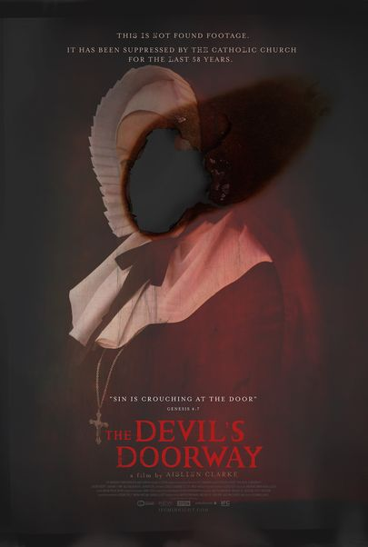 "Movie poster for ""THE DEVIL'S DOORWAY"""