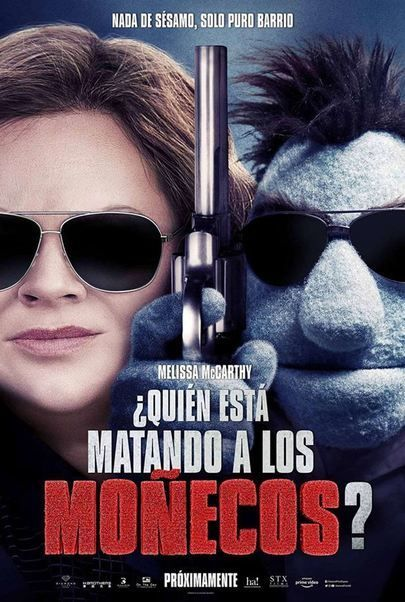 """Movie poster for """"THE HAPPYTIME MURDERS"""""""