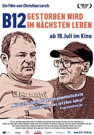 """Movie poster for """"B12 - Gestorben wird im nächsten Leben"""""""