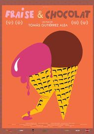 "Movie poster for ""Fresa y Chocolate"""