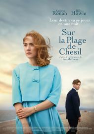 """Movie poster for """"ON CHESIL BEACH"""""""
