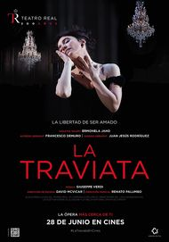 "Movie poster for ""LA TRAVIATA - DEL TEATRO REAL"""