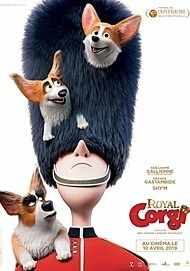 "Movie poster for ""THE QUEEN'S CORGI"""