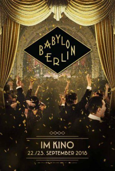 """Filmplakat für """"Babylon Berlin"""""""