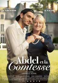 "Movie poster for ""ABDEL ET LA COMTESSE"""
