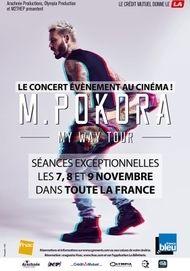 """Movie poster for """"M. Pokora - My Way Tour"""""""