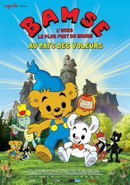 """Movie poster for """"Bamse and the City of Thieves"""""""