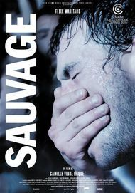 "Movie poster for ""SAUVAGE"""