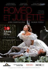 "Movie poster for ""ROMEO & JULIETTE - LICEU 2018"""