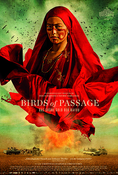 "Filmplakat für ""Birds of Passage"""