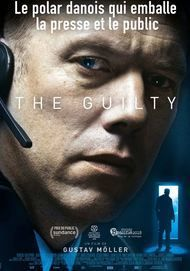 "Movie poster for ""THE GUILTY"""