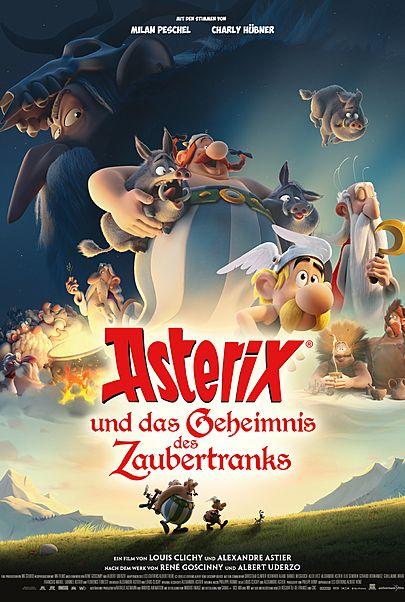 """Filmplakat für """"Asterix und das Geheimnis des Zaubertranks"""""""