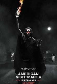 "Movie poster for ""THE FIRST PURGE"""
