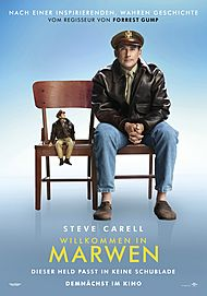 "Movie poster for ""WELCOME TO MARWEN"""