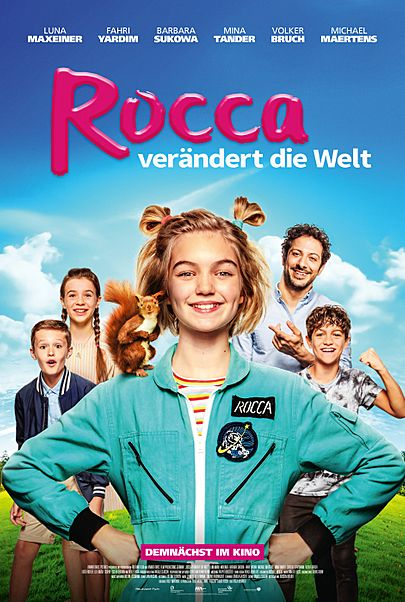 """Movie poster for """"Rocca verändert die Welt"""""""