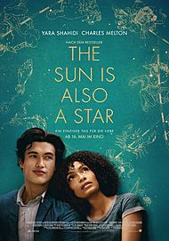 "Movie poster for ""THE SUN IS ALSO A STAR"""