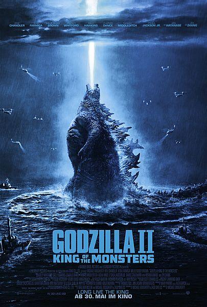 "Filmplakat für ""Godzilla 2: King of the Monsters"""