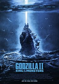 "Filmplakat für ""Godzilla 2: King of the Monsters"""