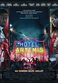 "Movie poster for ""Hotel Artemis"""