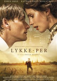"Movie poster for ""LYKKE-PER"""