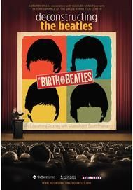 "Movie poster for ""DECONSTRUCTING THE BEATLES: BIRTH OF THE BEATLES"""