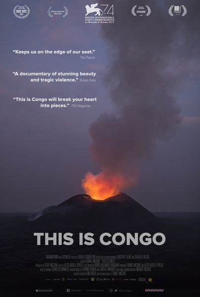 """Movie poster for """"THIS IS CONGO"""""""