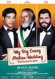 "Filmplakat für ""My Big Crazy Italian Wedding"""