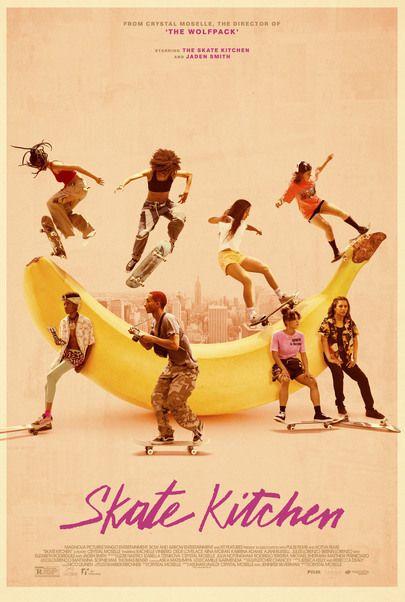 """Movie poster for """"SKATE KITCHEN"""""""