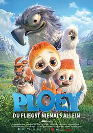 """Movie poster for """"Ploey - You Never Fly Alone"""""""