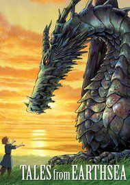 "Movie poster for ""TALES FROM EARTHSEA"""