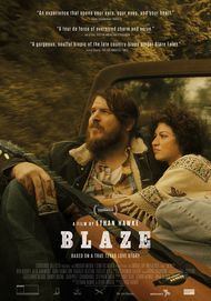 "Movie poster for ""BLAZE"""