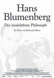 """Movie poster for """"Hans Blumenberg - Der unsichtbare Philosoph"""""""