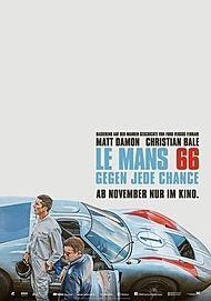 "Filmplakat für ""LE MANS 66 - GEGEN JEDE CHANCE"""