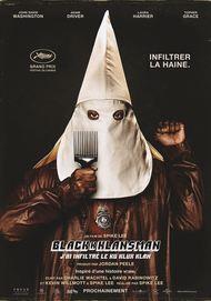 """Movie poster for """"BLACKKKLANSMAN"""""""
