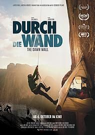 "Movie poster for ""THE DAWN WALL"""