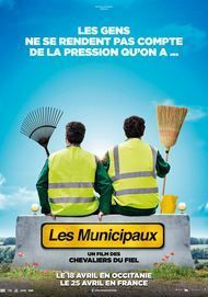 "Movie poster for ""LES MUNICIPAUX, CES HEROS"""