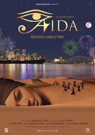 "Movie poster for ""AIDA: HANDA OPERA ON SYDNEY HARBOUR"""
