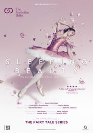 "Movie poster for ""THE SLEEPING BEAUTY: FROM THE AUSTRALIAN BALLET. THE FAIRY TALE SERIES"""