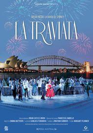 "Movie poster for ""LA TRAVIATA: HANDA OPERA ON SIDNEY HARBOUR"""
