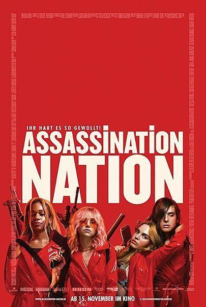 """Filmplakat für """"ASSASSINATION NATION"""""""