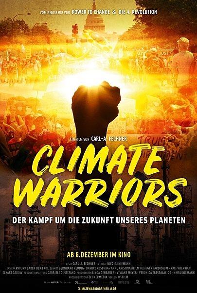 """Filmplakat für """"Climate Warriors"""""""